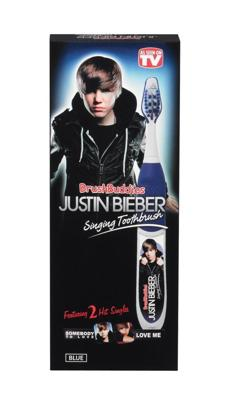 Justin Bieber singing toothbrush: $9.99 at Walgreens